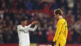 Блестящият гол на Гризман не помогна на Атлетико в Севиля