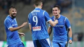 """""""Сините"""" зарадваха феновете си в края на сезона"""