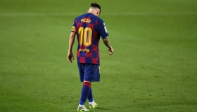 Гол №700 на Меси не помогна на Барса за победа срещу Атлетико