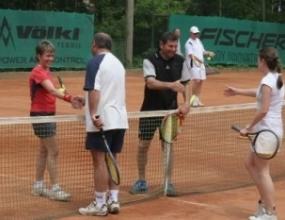 Турнирът за смесени двойки от Zagorka Challenge излъчи своите първи победители