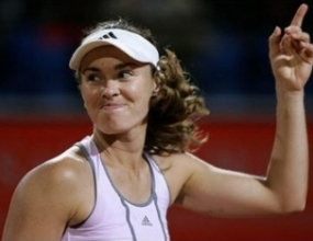 Мартина Хингис на полуфинал след лесна победа