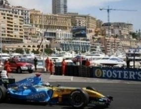 Алонсо най-бърз на първата свободна тренировка в Монако