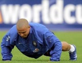 Роналдо тренира наравно с останалите