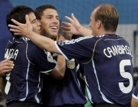 Фантастична Аржентина бие Сърбия и Черна гора с 6:0