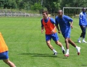 Борносузов направи първа тренировка с Левски
