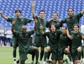Резервите на Португалия срещу Мексико