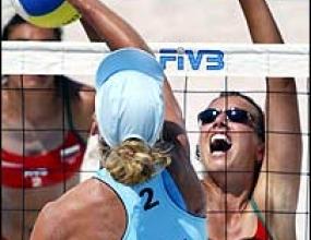 Петя и Лина с нова победа на турнира по плажен волейбол в Гщаад