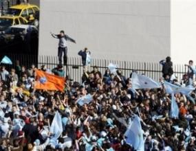 Когато Аржентина играе и крадците гледат