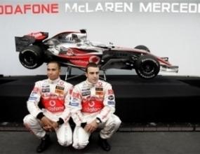 Макларън-Мерцедес показаха новата кола във Валенсия