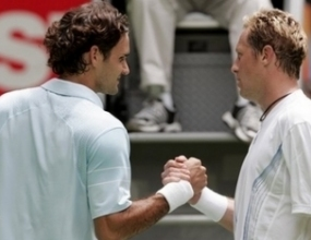 Бьоркман не успя да се опъне на Федерер