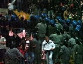 Тифозите на Палермо заформиха бой с полицията