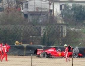 Маса разби новата кола на Ферари