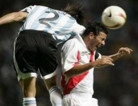 Скука между Аржентина и Перу и 0:0 след първото полувреме