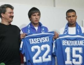 Тасевски и Бензукан титуляри срещу румънците днес