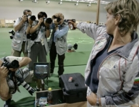 България шампион на 25 метра пистолет при жените