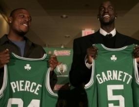 Гарнет в Бостън срещу 5 играча и избор в драфта