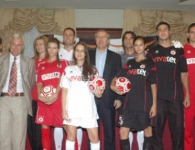 ПФК ЦСКА представи новите си екипи с логото на vivatel