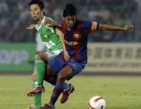 Барселона започна класически турнето в Китай