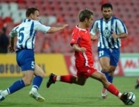 Албанци легнали на ЦСКА