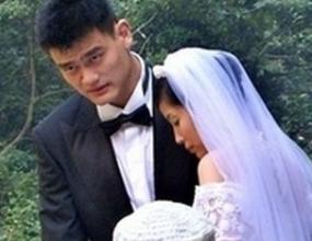 Яо Минг се жени в Шанхай