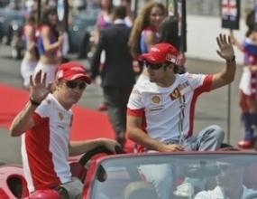 Маса е доволен от атмосферата във Ферари