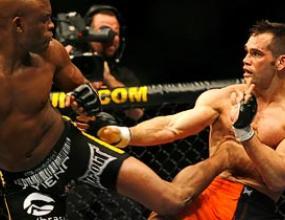 """Андерсън Силвиа блести на """"UFC 77"""""""
