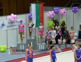 10 медала за гимнастичките ни от Балканиадата
