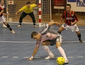 Надин е шампионът на България по футзал