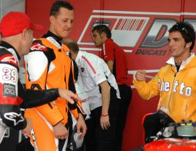 Жан Тод притеснен от мотоциклетната кариера на Шумахер