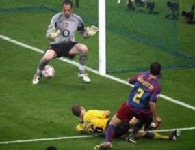Историята на ШЛ: 2006 - Барса излъга Арсенал в Париж