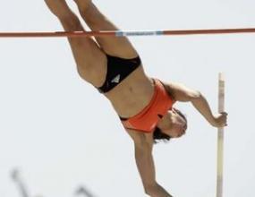 Американка на косъм от световния рекорд на овчарски скок