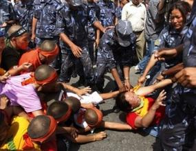 Протибетски активисти протестират из цял свят по време на Олимпиадата