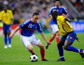 Рибери изведе Франция до успех срещу Колумбия