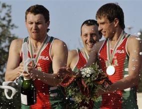Щафетата на Беларус с титлата на световното по модерен петобой