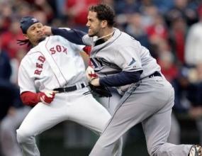 Масов бой при поредния успех на Бостън над Тампа Бей