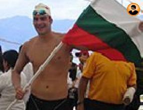 Петър Стойчев спечели за седми път Охридския плувен маратон