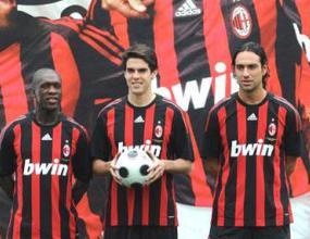 Милан представи новия си екип