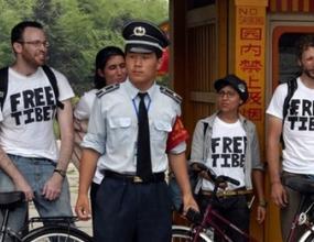 Петима чужденци задържани в Пекин заради неразрешен протибетски протест