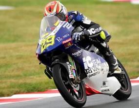 125cc: Андреа Яноне най-бърз в първата свободна тренировка
