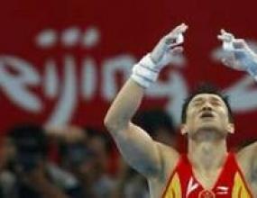 Цзоу Кай стана олимпийски шампион по спортна гимнастика за мъже на земя