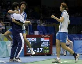 Злато за Република Корея в турнира при смесените двойки