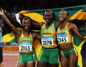 Пълен триумф за Ямайка на 100 м при жените