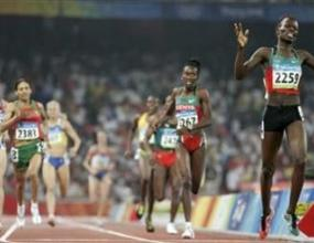 Памела Джелимо спечели златния медал на 800 метра със световен рекорд