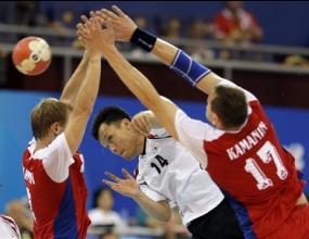 Русия победи Република Корея с 29:22 и се класира за ¼-финалите