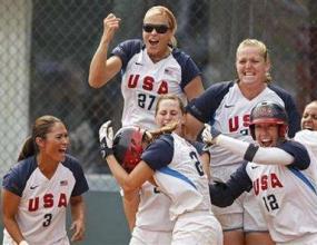 САЩ и Австралия ще играят на финала на турнира по софтбол