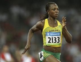Вероника Кемпбъл-Браун бе най-бърза в полуфиналите на 200 метра при жените