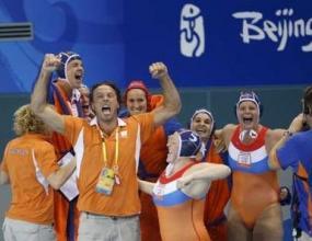 Холандия олимпийски шампион по водна топка (жени)