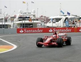 Кими най-бърз във втората сесия по улиците на Валенсия
