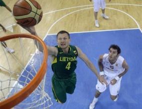 Испания излъга Литва и се класира на финал