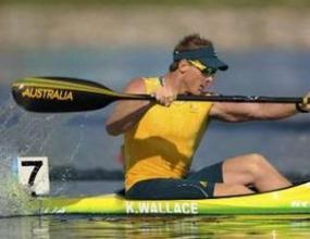 Кен Уолъс олимпийски шапион на 500 метра едноместен каяк